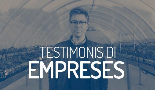 Testimonis DI d'empreses